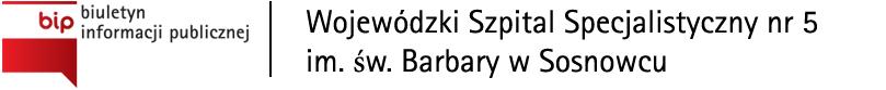 BIP Wojewódzki Szpital Specjalistyczny nr 5 im. św. Barbary w Sosnowcu